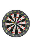 Darts. Target for game of darts, isolated Stock Photos
