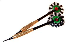 Darts. Arrows to play darts. Nice and clear Stock Images
