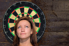Darts-2. Dangerous games Royalty Free Stock Images