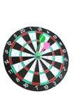 Darts. The Business topic - success. Nice game Stock Photos