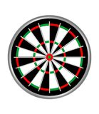 Darts. Empty darts target isolated at white background vector illustration