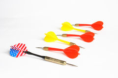 Darts Royalty Free Stock Photo