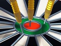 Darts 3d Royalty Free Stock Photos