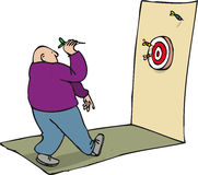darts ilustração royalty free
