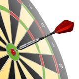 Darts. The vector illustration of darts Royalty Free Stock Photo