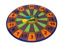 Darts. Children's game hit the mark, make hit Stock Images