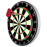 Darts aim Royalty Free Stock Images