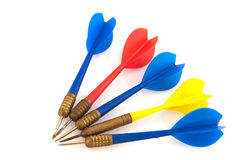 Darts arrows Stock Image