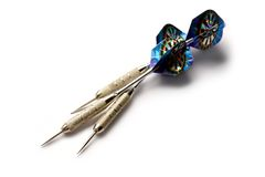 Darts arrows Stock Photo
