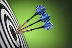 Darts arrows Stock Photography