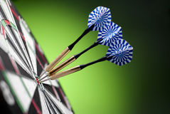 Darts arrows Royalty Free Stock Photography