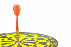 Darts and arrows on white background. Stock Images
