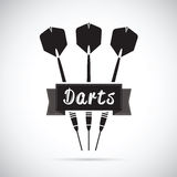 Darts background Royalty Free Stock Photo