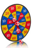 Darts and balls Velcro Royalty Free Stock Image