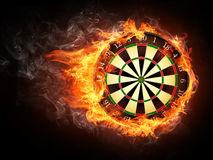 Free Darts Board Royalty Free Stock Photos - 21665598