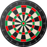 Darts board royalty free illustration