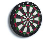 Darts board. 3d render of darts board Stock Photos