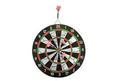 Darts board with arrows Stock Photos