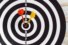 Darts board Royalty Free Stock Image