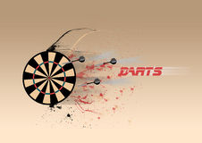 Darts Board background Royalty Free Stock Photography