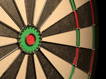 Darts board empty Stock Images