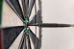 Darts board game Royalty Free Stock Photography