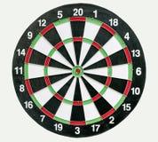 Darts board isolated Stock Photo