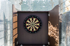 Darts. Board in luxury fun area Royalty Free Stock Image