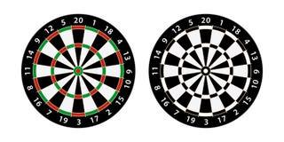 Darts board target Royalty Free Stock Photos