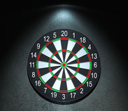 Darts board. On the wall Stock Photography