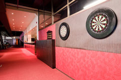 Darts boards in club Stock Photography