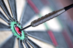 Darts in bull's-eye Royalty Free Stock Image