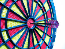 Darts in bulls-eye Royalty Free Stock Photography