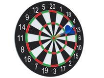 Darts in bulls-eye Stock Image