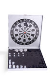 Darts and chess set Royalty Free Stock Photo