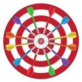 Darts Circle Stock Photos