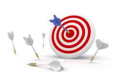 Darts concept. stock illustration