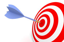 Darts concept. Royalty Free Stock Photography