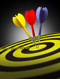 Darts concept Stock Photography