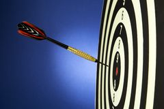 Darts with dart Stock Images