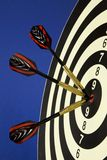Darts with dart Stock Photo