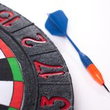 Darts and dart for throwing. On a white background Royalty Free Stock Image