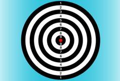 darts dartboard Ilustração do vetor ilustração stock