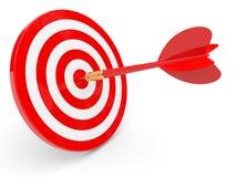 darts Esfera 3d diferente Imagens de Stock