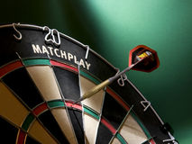 Darts game stock images
