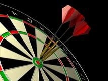 Darts game. 3d rendered image Stock Photos