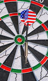 Darts game Stock Photos
