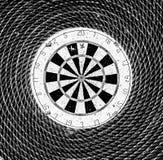 Darts game art background Royalty Free Stock Photo