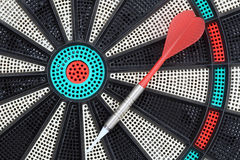 Darts game-board stock photo