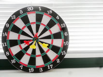 Darts. Game fun colors business Stock Photo